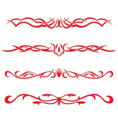 The Collection of the tattooes vector