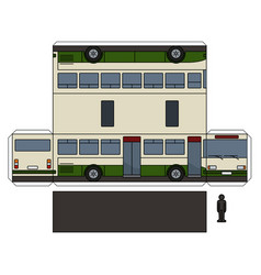 The simple paper model of a bus vector