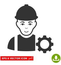 Repairman EPS Icon vector