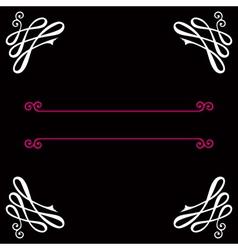 Vignette background vector image