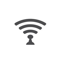 Wi-fi icon for web business finance and vector