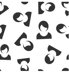 woman sign icon seamless pattern background vector image
