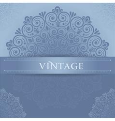 Stylish vintage vector image vector image