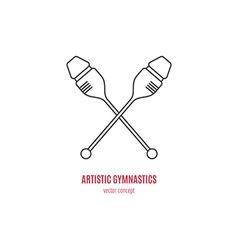 Clubs Logo vector image vector image