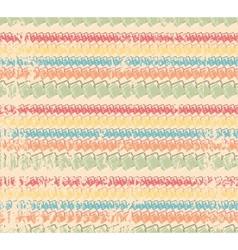 vintage striped background vector image vector image
