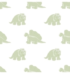 cute dinosaurs on a white background vector image
