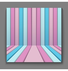 geometric background for design vector image vector image