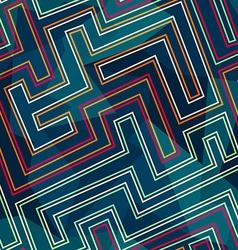Neon seamless pattern vector