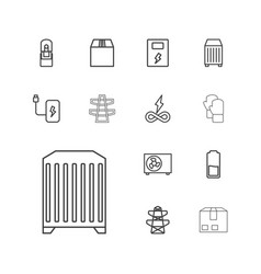 Supply icons vector