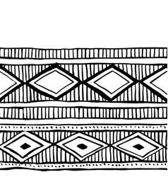 Tribal vintage ethnic seamless pattern vector