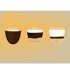 hotcoffee vector image vector image