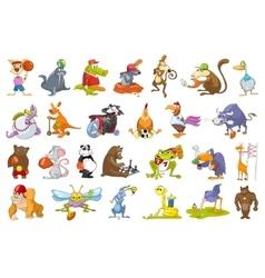 set of animals sport vector image