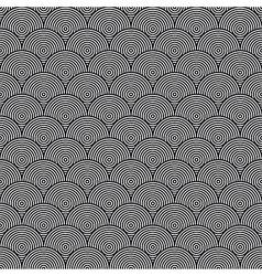 Hidden Circles Seamless Pattern vector image vector image