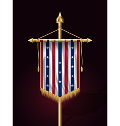 Stars and Stripes Vertical Banner vector image