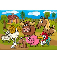 animals country group m vector image