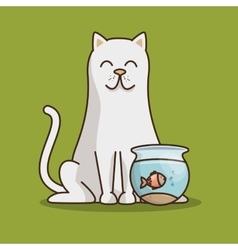 group animals pet shop vector image