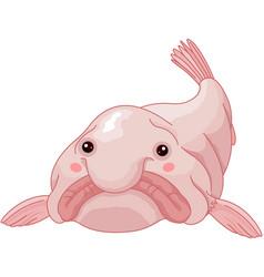 blob fish vector image