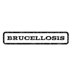 Brucellosis watermark stamp vector