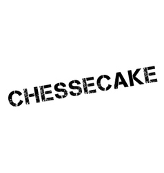 Chessecake rubber stamp vector