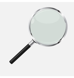 Magnifying Glass Search Icon vector image