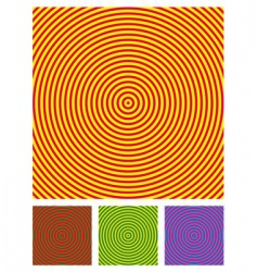 optical illusion background vector image
