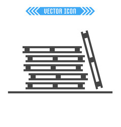 Pallets icon sign symbol vector