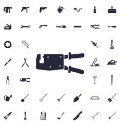 Pipe wrench icon vector