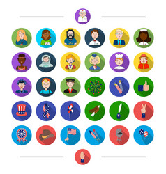 Profession nationality hobby and other web icon vector