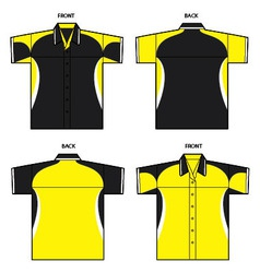 sporty shirt vector image vector image