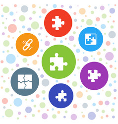 Togetherness icons vector