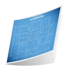 Architecture background sticker 2 vector image vector image