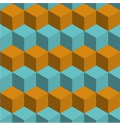 modern cube background texture vector image