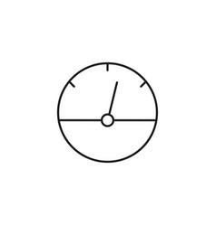 speedometer measuring device icon vector image