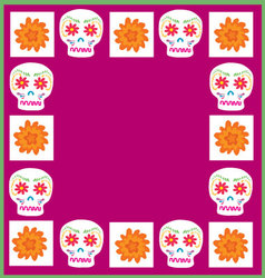 Background Day of the Dead vector