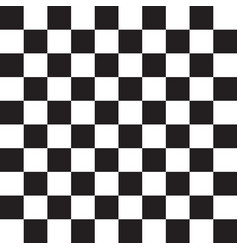 checkered black and white pattern vector image