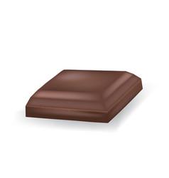 Chocolate cube vector