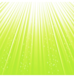 green stars vector image