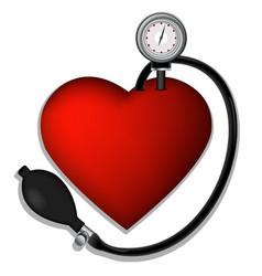 Heart pressure vector