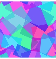 Abstract polygonal purple and blue seamless vector image