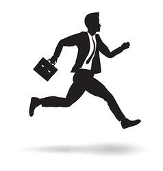 side business runner vector image