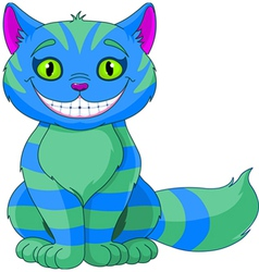 Smiling Cheshire Cat vector image
