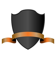 Isolated Heraldry Shield vector image vector image
