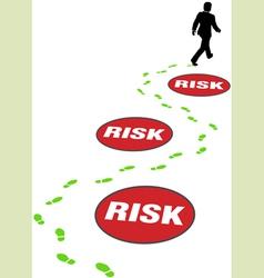 risk management business vector image