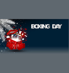 Boxing day sale concept design vector