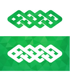 Celtic knot - irish traditional symbol vector