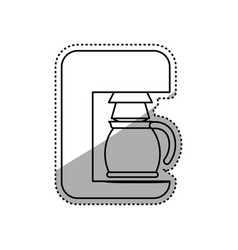 coffee machine maker vector image