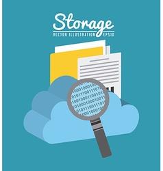 Data storage center vector