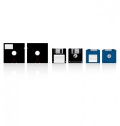 Diskettes vector