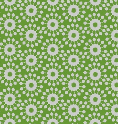Flower striped vector