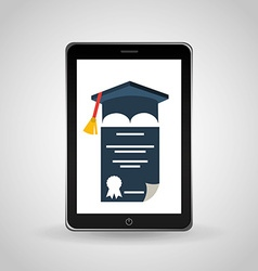 graduation concept design vector image